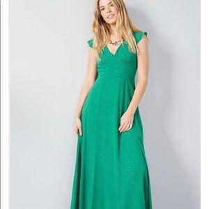 NWT ModCloth Opulent Engagement Maxi Dress